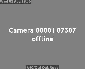 A40 / Old Oak Road traffic camera.
