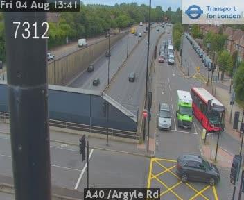 A40  / Argyle Road traffic camera.