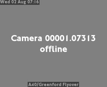 A40 / Greenford Flyover traffic camera.