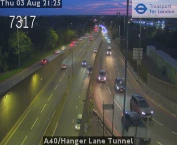 A40 / Hanger Lane Tunnel traffic camera.