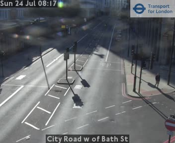City Road West of Bath Street traffic camera.