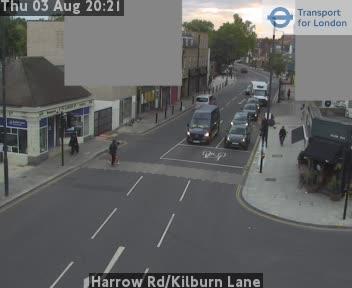 Harrow Road / Kilburn Lane traffic camera.