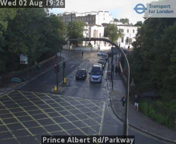 Prince Albert Road / Parkway traffic camera.