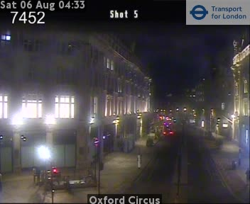 Oxford Street Webcam