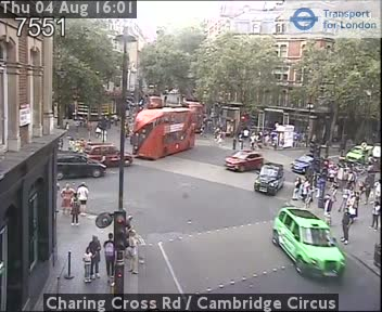 Webcam Chinatown Londra