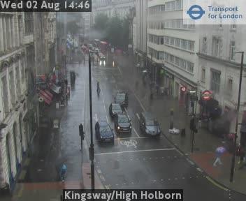 Kingsway / High Holborn traffic camera.