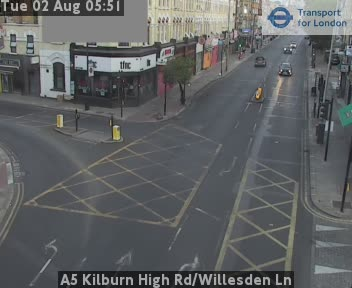 A5 Kilburn High Road Willesden Lane Live Traffic Weather JAM Cam London