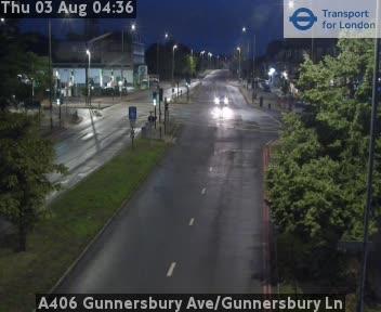 A406 Gunnersbury Avenue/Gunnersbury Lane