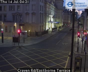 Craven Road / Eastbourne Terrace traffic camera.