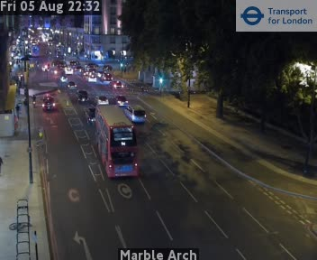Marble Arch London Traffic Weather TFL Jam Web Cam Central London