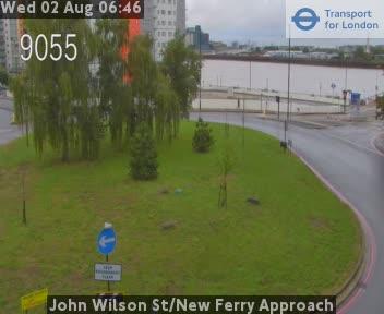 John Wilson Street / New Ferry Approach traffic camera.