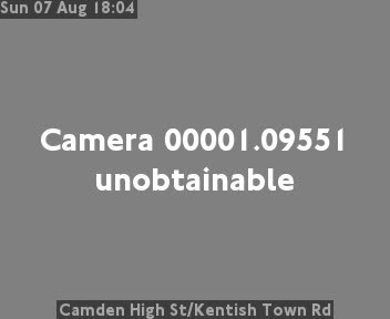 Camden High Street Kentish Town Road London Traffic Weather Jam Cam London