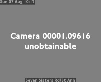 Seven Sisters Road /  St Ann traffic camera.