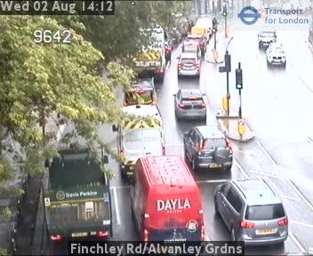 Finchley Road / Alvanley Gardens traffic camera.