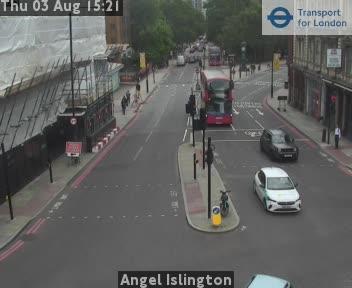 Angel Islington London Traffic TFL Web Cam London