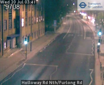Holloway Road North / Furlong Road traffic camera.