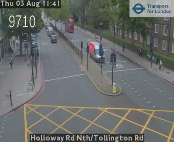 Holloway Road North / Tollington Road traffic camera.