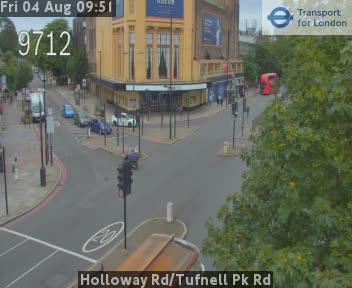 Holloway Road / Tufnell Park Road traffic camera.