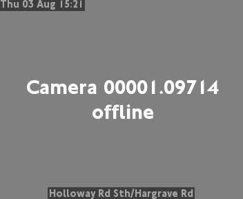Holloway Road South / Hargrave Road traffic camera.