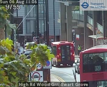 High Road Wood Green-Ewart Grove traffic camera.