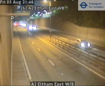 A2 Eltham East Westbound traffic camera.