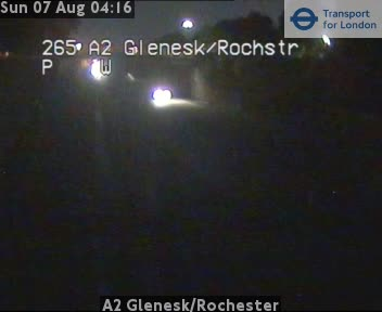 A2 Glenesk / Rochester traffic camera.