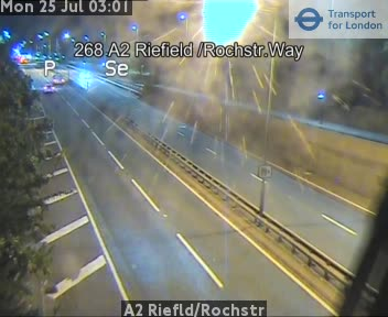 A2 Riefield Road / Rochester Way traffic camera.