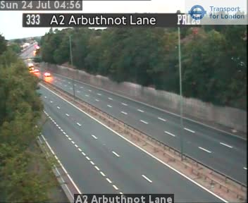 A2 Arbuthnot Lane traffic camera.