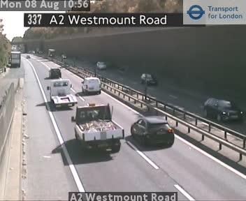 A2 Westmount Road traffic camera.