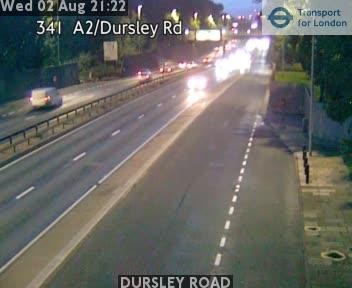 DURSLEY ROAD traffic camera.