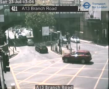 A13 Branch Road traffic camera.