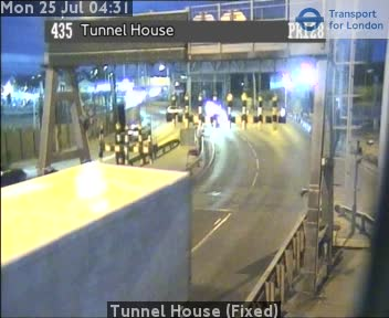 Tunnel House (Fixed) traffic camera.