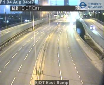 EIDT East Ramp traffic camera.