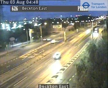 Beckton East traffic camera.
