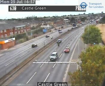 Castle Green traffic camera.