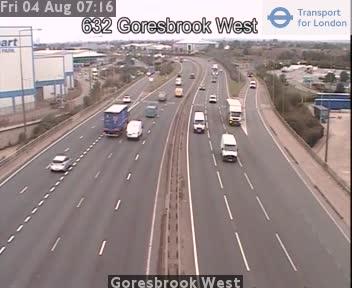 Goresbrook West traffic camera.