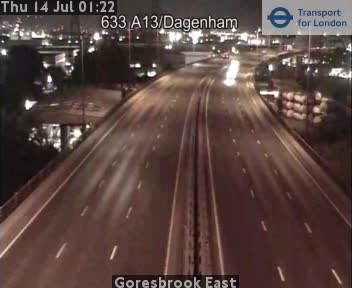 Goresbrook East traffic camera.