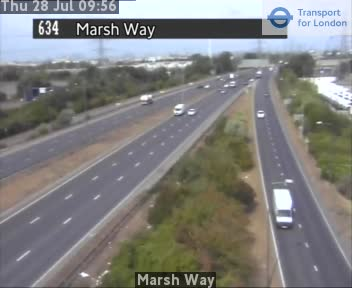Marsh Way traffic camera.