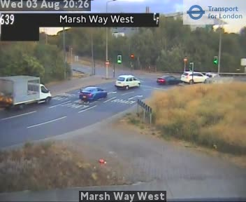 Marsh Way West traffic camera.