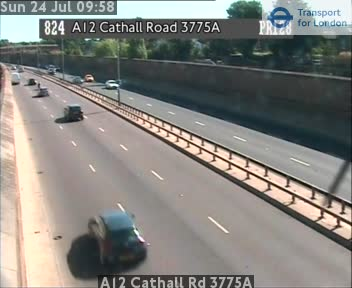 A12 Cathall Road 3775A traffic camera.