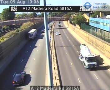 A12 Madeira Road 3815A traffic camera.