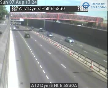A12 Dyers Hall East 3830A traffic camera.