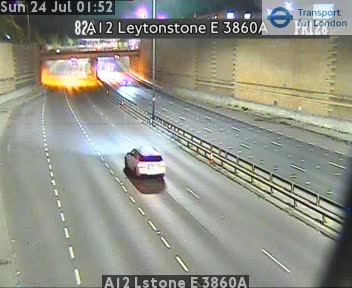 A12 Leytonstone E 3860A traffic camera.