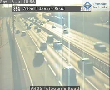 A406 Fulbourne Road traffic camera.