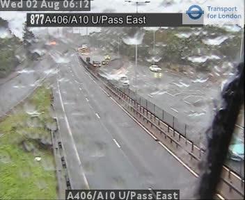 A406 / A10 Underpass East traffic camera.