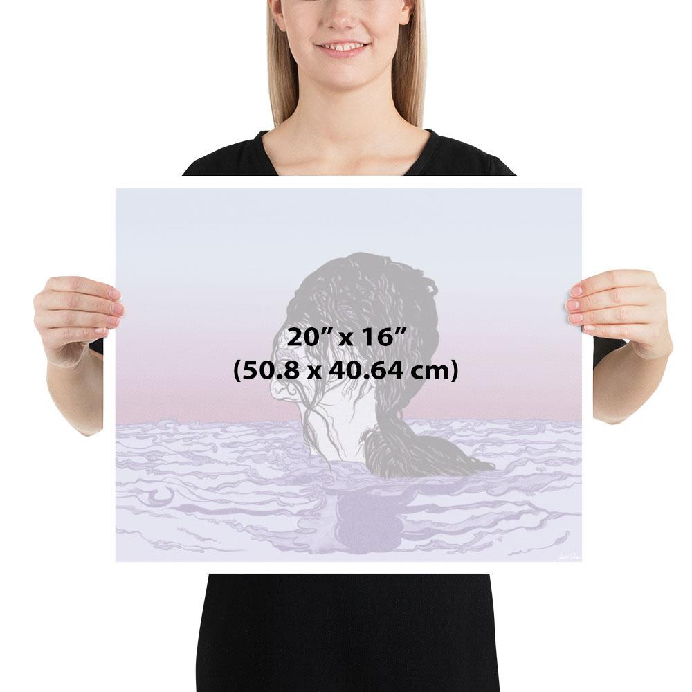 Art Print 20x16