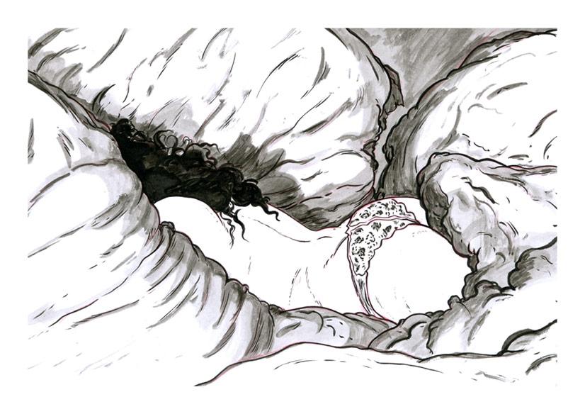 Sleeping in V