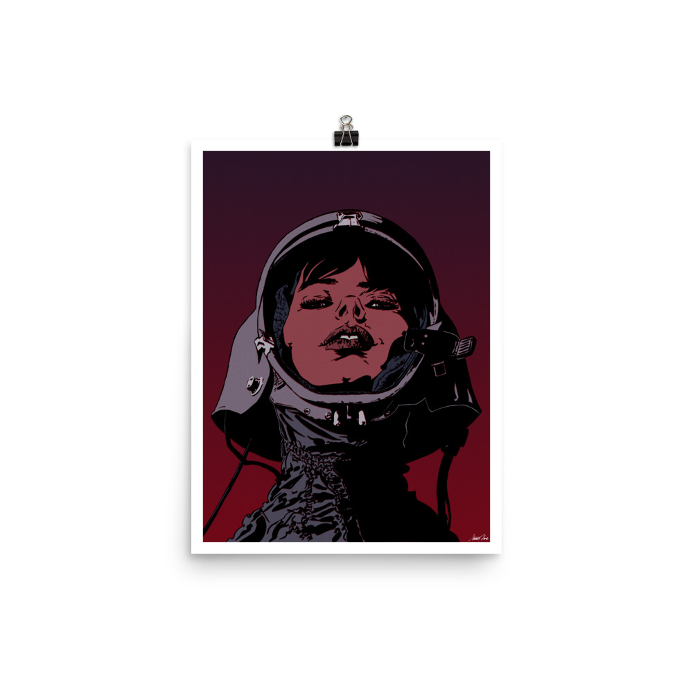 Cosmonaut | Version 1 Art print
