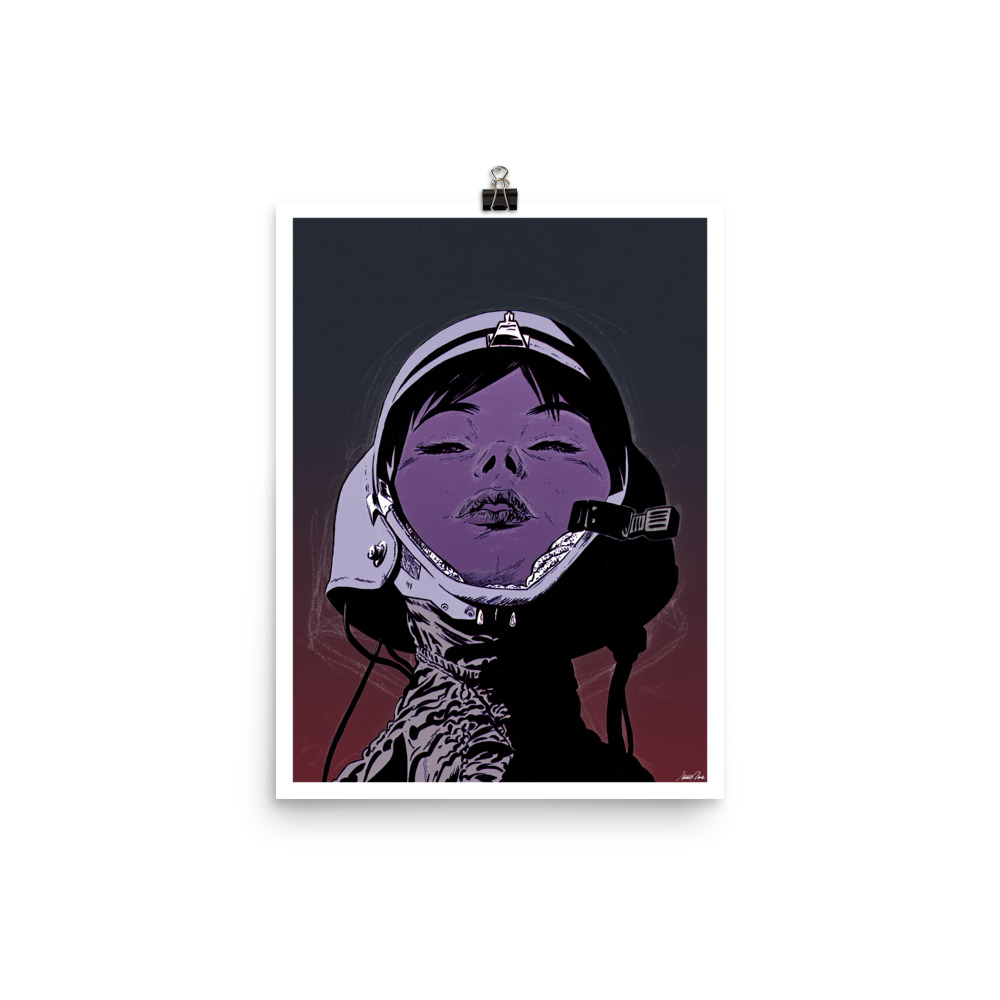 Cosmonaut | Version 2 Art print
