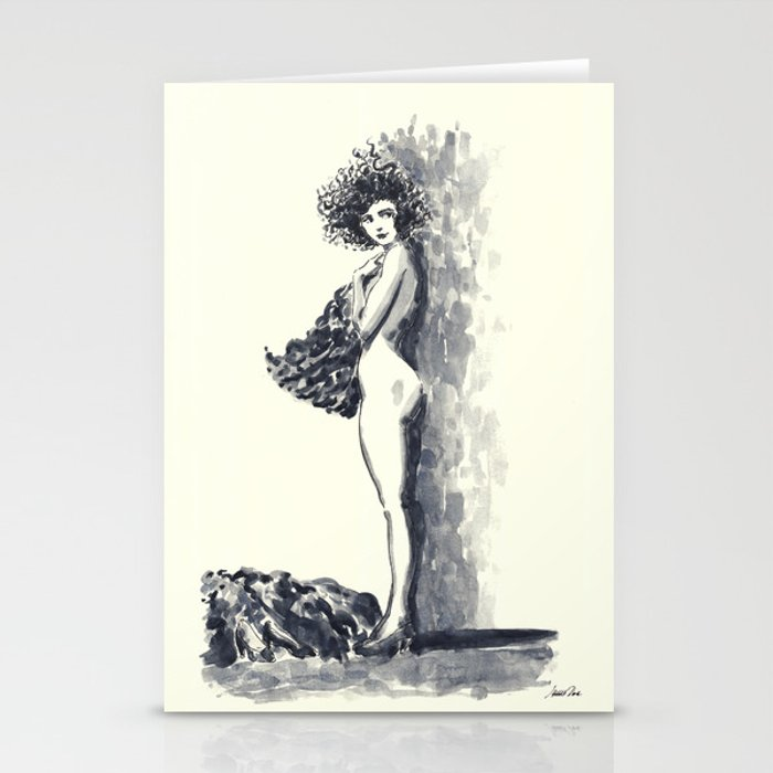 Dancer Undressing 171220 Cards (set of 3)
